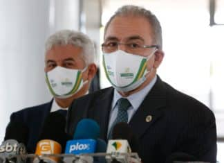 Ministro da Saúde, Marcelo Queiroga. Foto: Anderson Riedel/PR