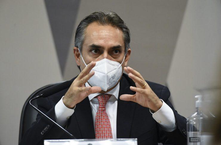 Gerente-geral da Pfizer na América Latina, Carlos Murillo. Foto: Jefferson Rudy/Agência Senado