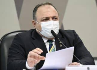 Ex-ministro da Saúde, general Eduardo Pazuello. Foto: Jefferson Rudy/Agência Senado