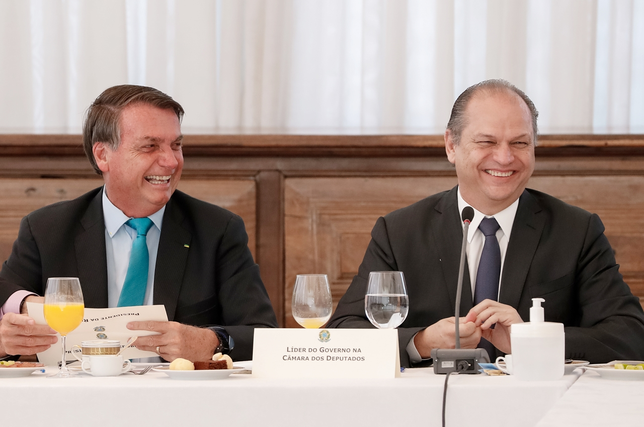 Presidente Jair Bolsonaro e deputado Ricardo Barros. Foto: Alan Santos/PR