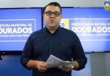 Prefeito de Dourados, Alan Guedes. Foto: Reprodução