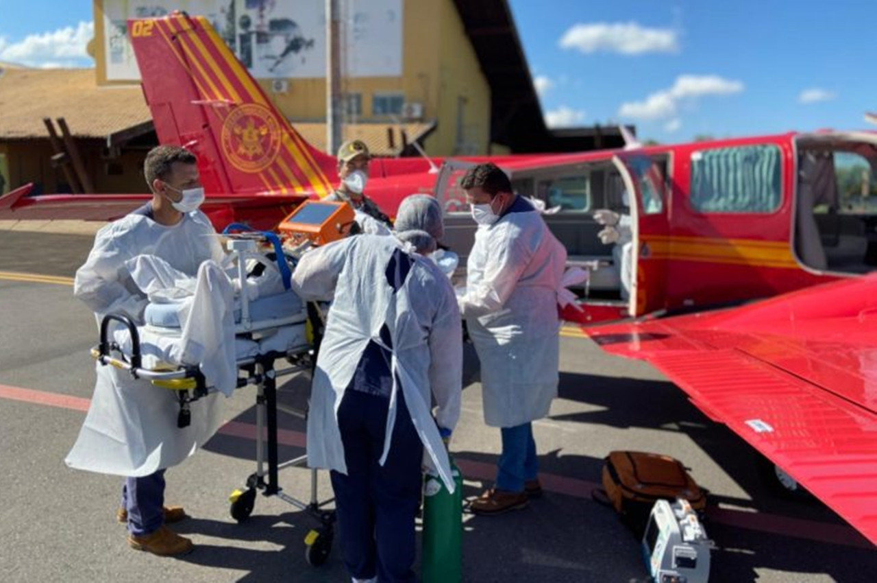 8 pacientes de Dourados são transferidos para Rondônia. Foto: MS.GOV/Reprodução
