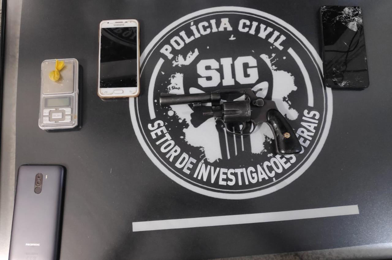 Suspeito de homicídio é preso em flagrante em Dourados. Foto: Divulgação