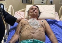 Tratamento segue como previsto e não há estimativa de alta de Bolsonaro. Foto: Reprodução