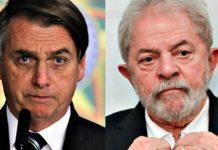 Bolsonaro e Lula. Foto: Reprodução