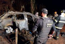 Veículo com mais de 800 quilos de maconha foi recuperado pelo DOF. Foto: Divulgação