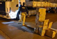 Duas pessoas presas pela PRF. Foto: Divulgação