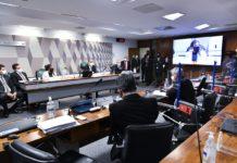 Depoimentos à CPI da diretora e do sócio da Precisa Medicamentos. Foto: Waldemir Barreto/Agência Senado