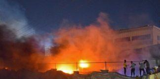 Incêndio atinge hospital do Iraque e deixa 66 mortos. Foto: Reprodução