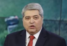 José Luis Datena. Foto: Governo do Estado de SP