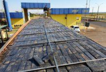 PRF apreende quase 2 toneladas de maconha em Naviraí (MS). Foto: Divulgação