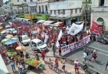 Manifestação em Belém, Pará. Foto: MST PA/Fotos Públicas