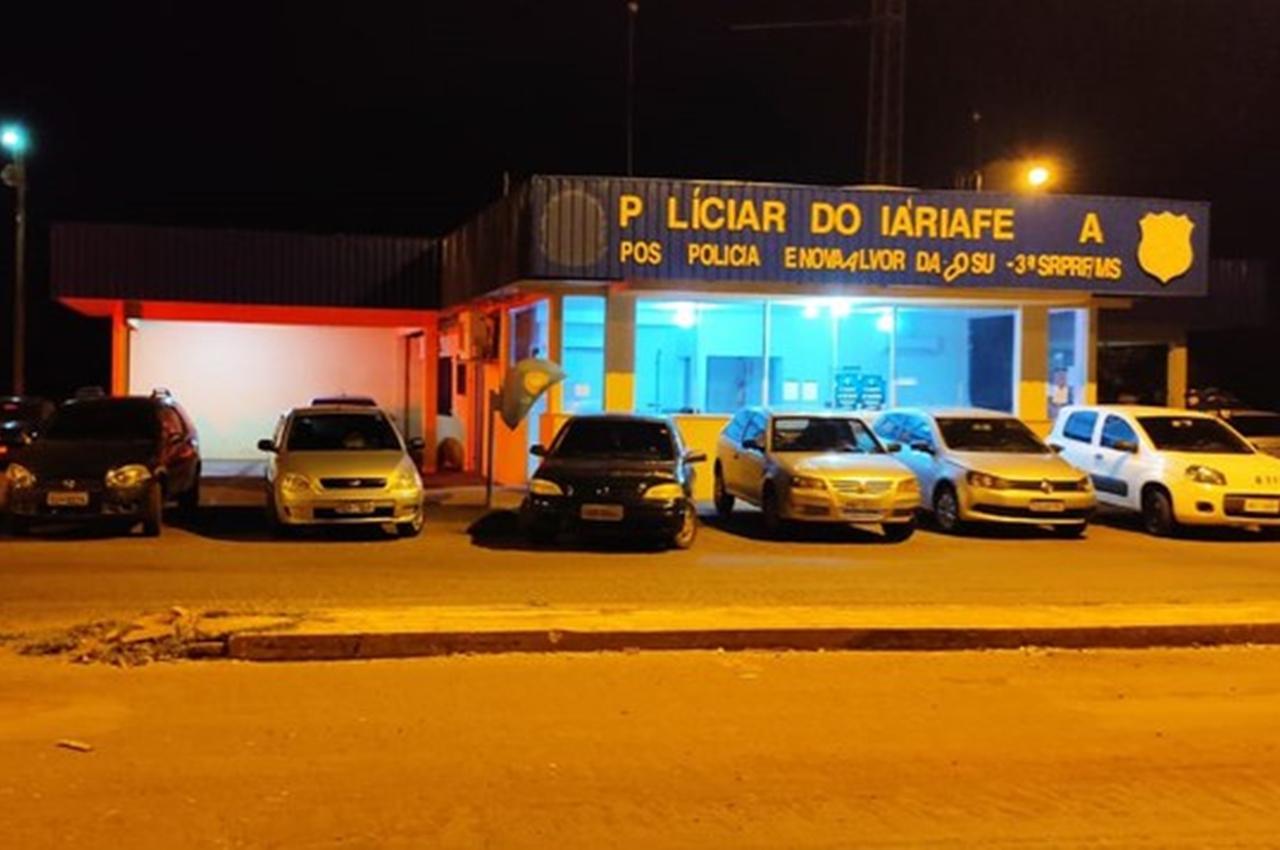 PRF e Receita Federal realizam operação de combate ao contrabando e descaminho em Nova Alvorada do Sul (MS). Foto: Divulgação