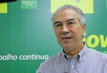 Governador Reinaldo Azambuja. Foto: Chico Ribeiro/Divulgação