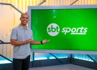 SBT SPORTS, com Luiz Alano. Foto: Beatriz Nadler/SBT