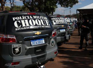 PMMS recebe novas viaturas. Foto: Divulgação