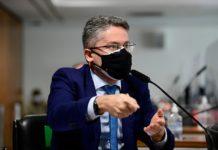 Alessandro Vieira. Foto: Pedro França/Agência Senado