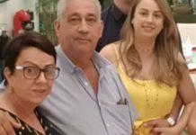 Helena Maria Santos (mãe), Antônio Soares dos Santos (pai) e Jaqueline Soares (filha). Foto: Reprodução