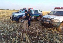 Corpo foi encontrado em Itaporã (MS). Foto: Dourados News/Reprodução