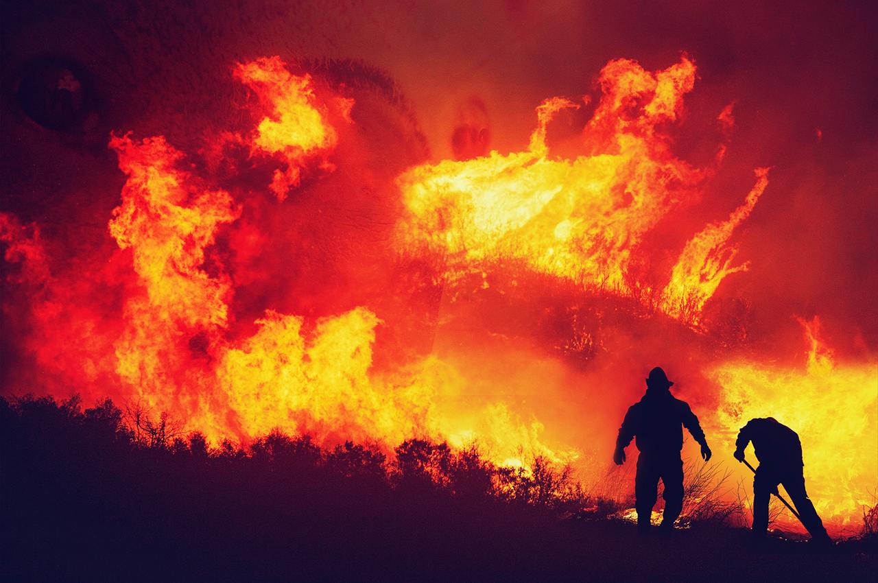 Catástrofes relacionadas ao clima estão ficando cada vez mais frequentes. Foto: Cortesia das Testemunhas de Jeová