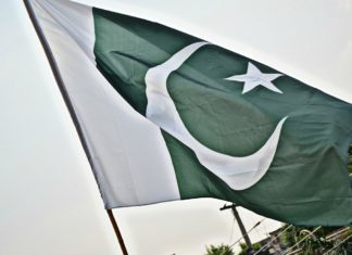 Bandeira do Paquistão. Foto: SyedWasiqShah/Pixabay