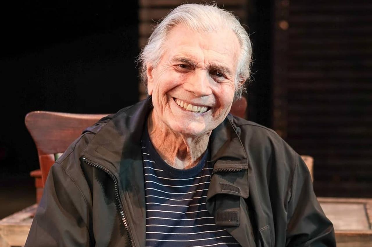 Ator Tarcísio Meira morreu aos 85 anos, após complicações da covid-19. Foto: Reprodução/Instagram