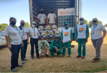 O Estado de Mato Grosso do Sul recebeu cerca de R$ 60 mil em mantimentos. Foto: Divulgação