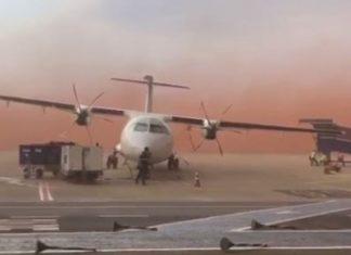 Tempestades trazem chuva, granizo, vento e quase viram avião no interior do Paraná. Foto: Reprodução