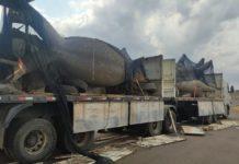 PRF apreende 158,7 kg de cocaína em Eldorado (MS). Foto: Divulgação