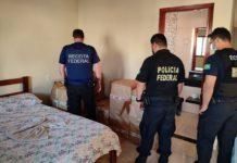Operação Fronteira Legal combate crimes de contrabando e descaminho no MS. Foto: Divulgação