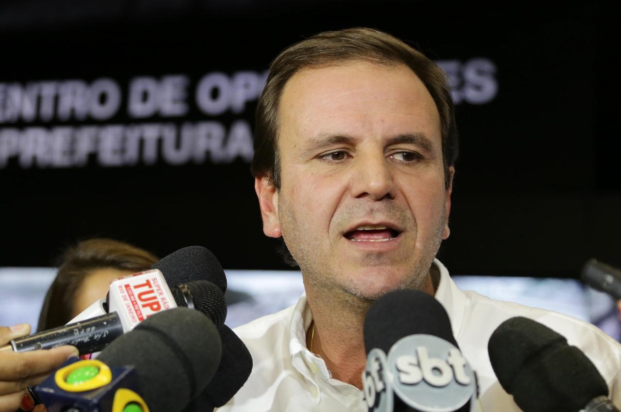 Eduardo Paes. Foto: Ricardo Cassiano/Prefeitura do RJ